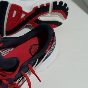 Brooks Shoes - Brooks Launch 3 Running Shoes Red Blue & White